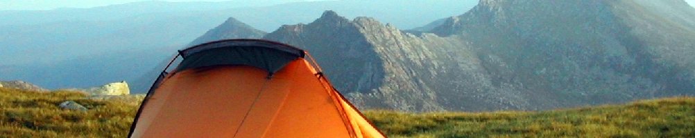 High camp on Arran