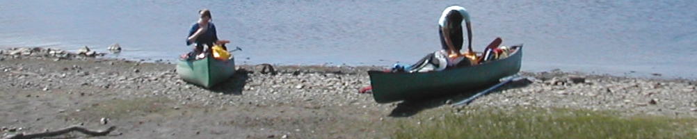 Open Canoes on Expedition